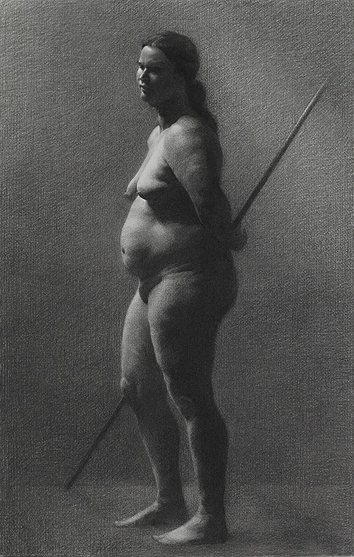 Figure Drawing: Anna II