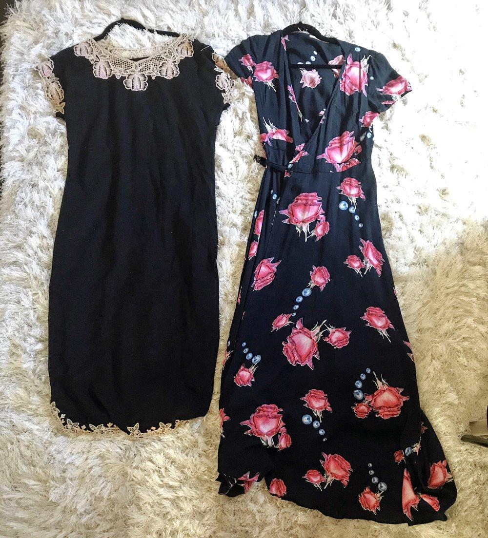 maxi-floral dress