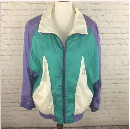 Vintage 80's Windbreaker from Ebay