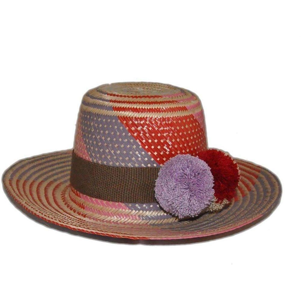 Iraca Palm Wayuu Hat by Putchipuu