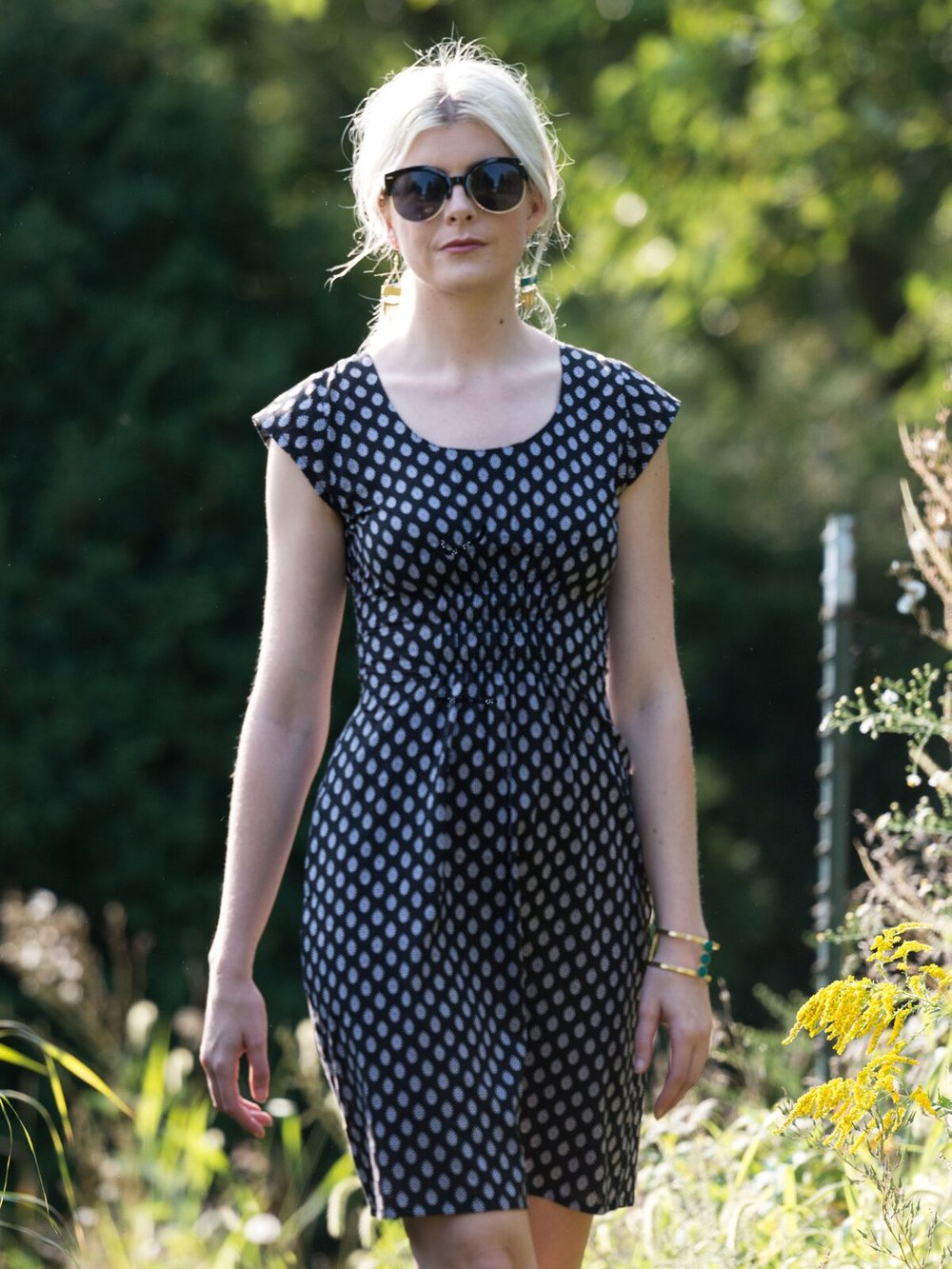 Artsy Traveler Dress by Mata Traders