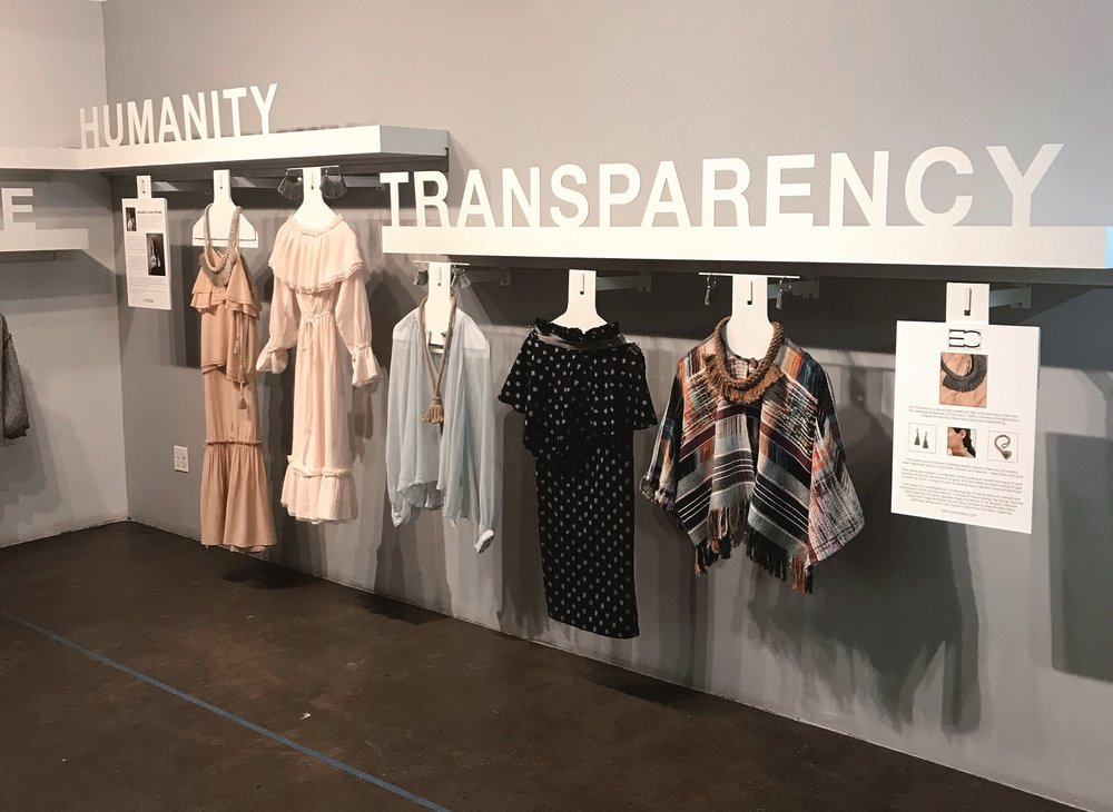 Ethical Designer showcase at B F+D Accelerator