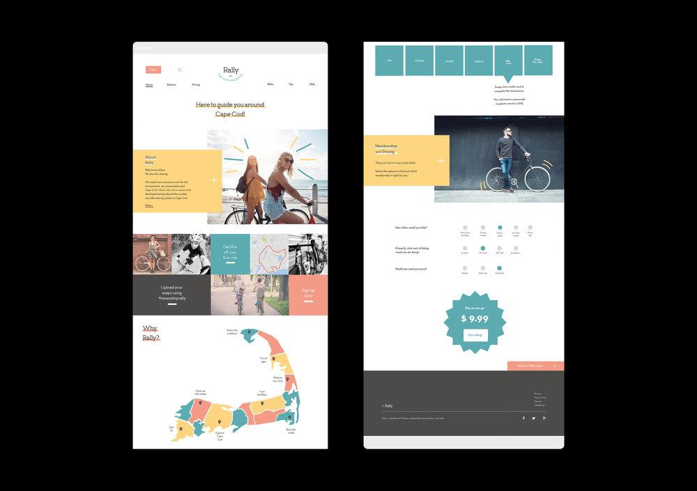 Rally / UX + UI Design