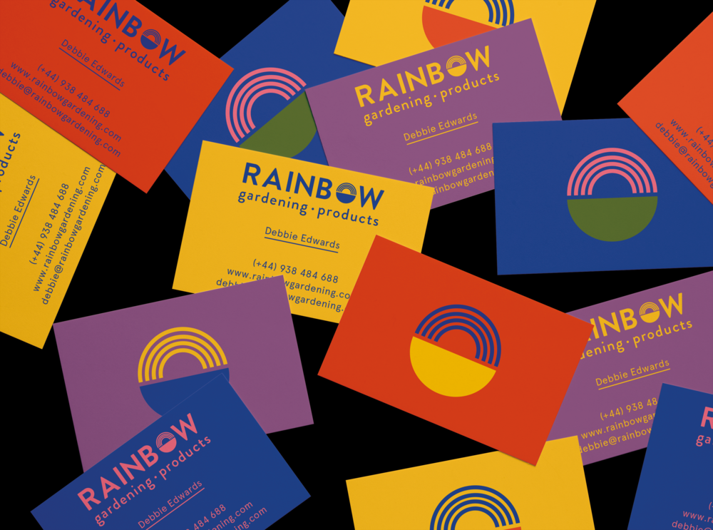 RAINBOW GARDENING PRODUCTS / Identity