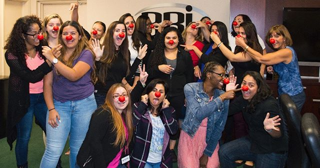 We've had a great day in the office showing our support for @rednosedayusa! One honk at a time. We're are forever moved by the #RedNoseDay mission to end child poverty. #charity