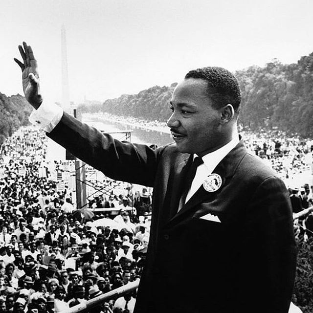 """I have a dream that my four little children will one day they will live in a nation where they will not be judged by the color of their skin but by the content of their character. I have a dream"". BBI wishes you all a happy MLK day and to enjoy the holiday!"