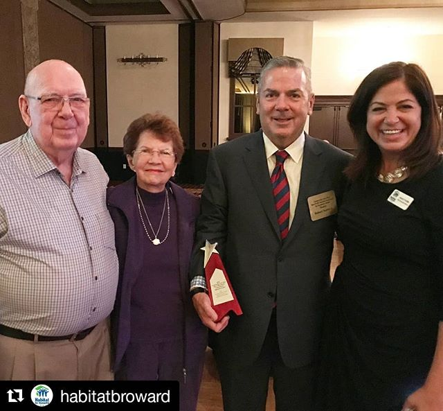 #Repost @habitatbroward (@get_repost) ・・・ Congratulations to our Board Chair Robert Taylor Jr. for winning @211broward's FPL Connect Outstanding Nonprofit Board Leader of the Year award! We are so proud of you and the work you do to help us deliver the dream of homeownership to deserving families right here in #browardcounty.  #givingback #bbigivingback #community