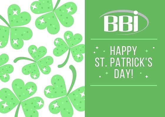 BBI wishes all of you a Happy St. Patrick's Day! Enjoy the holiday and be safe.  #happystpatricksday #stpatricksday