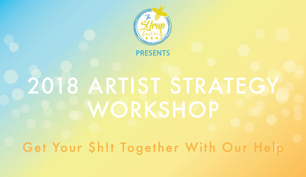 - On January 22nd we hosted an Artist Strategy workshop with 15 local artists. This workshop focused on planning for releases including budgeting, marketing, and timelines.