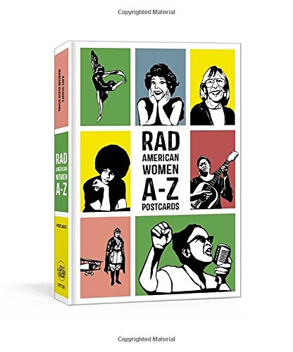 Rad American Women postcard set - 26 cards - perfect for sending notes to elected representatives, $12.99