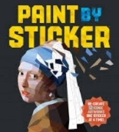 A fun new way to be creative, paint-by-stickers is like paint-by-numbers but with, well, stickers.Collections include animals, rock stars, and art masterpieces. $14.95