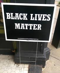 Black Lives Matter yard sign, $5. All proceeds go to the Philly Children's March organization