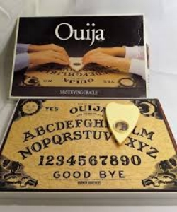 Whether you call it Wee-Gee or Wee-Ja, the Classic Ouija board spells fun. Just ask it a question and wait to see what answer the Mystifying Oracle will reveal to you. Includes a sturdy wood Ouija board featuring original graphics and plastic message indicator. You'll find the game in our mystery/thriller section, because of course....$28.99