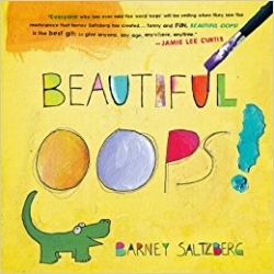 "An award winning, best-selling, one-of-a-kind interactive book,  Beautiful Oops!  shows readers of any age how every mistake is an opportunity to make something beautiful. A singular work of imagination, creativity, and paper engineering,  Beautiful Oops!  is filled with pop-ups, lift-the-flaps, tears, holes, overlays, bends, smudges, and even an accordion ""telescope""—each demonstrating the magical transformation from blunder to wonder.  $15.95"