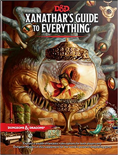 Explore a wealth of new rules options for both players and Dungeon Masters in this supplement for the world's greatest roleplaying game. The beholder Xanathar—Waterdeep's most infamous crime lord—is known to hoard information on friend and foe alike. The beholder catalogs lore about adventurers and ponders methods to thwart them. Its twisted mind imagines that it can eventually record everything! $49.95
