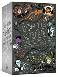 Women in Science boxed set of 100 postcards - another great idea for contacting your Congresspeople, $20
