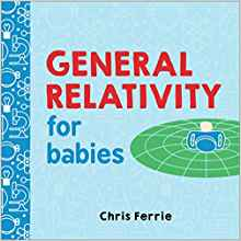 And from a different publisher, the Baby University series also explores science with humor and surprising accuracy. $9.99