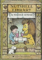 "The classic, tiny, Sendak boxed set. Just 3""x2""x4"" yet full of memories and fun. In print since 1962! $16.95"