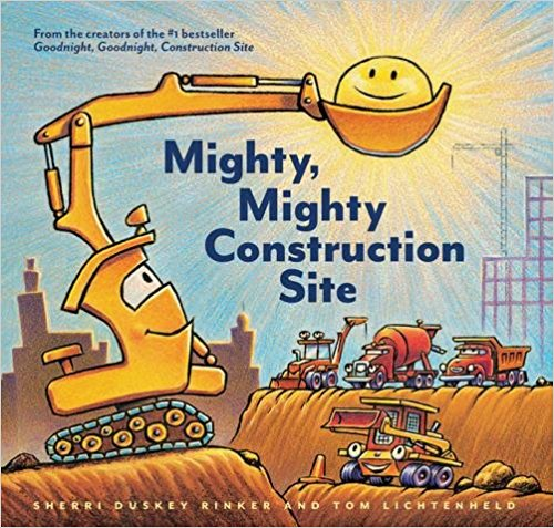 At last—here from the team behind the beloved international bestseller comes a companion to  Goodnight, Goodnight, Construction Site . All of our favorite trucks are back on the construction site—this time with a focus on team-building, friendship, and working together to make a big task seem small!  $16.99