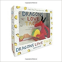Gift set with mini-hardcover and small dragon. $17.99