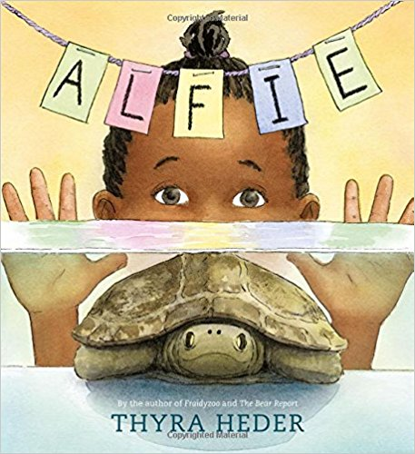 Nia loves Alfie, her pet turtle. But he's not very soft, he doesn't do tricks, and he's pretty quiet. Sometimes she forgets he's even there! That is until the night before Nia's seventh birthday, when nAlfie disappears! Then, in an innovative switch in point of view, we hear Alfie's side of the story. $17.99