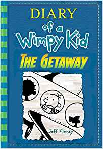 Wimpy Kid! See the display in the store to enter a contest to win a family vacation! $13.95