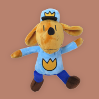 Know a Dog Man fan? Bring home a soft plush! $18