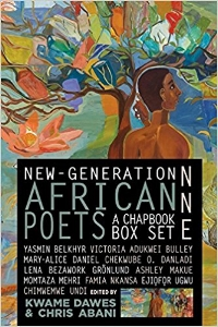This limited-edition box set of ten African poets is gorgeous. Not only does it introduce readers to the best poetry by contemporary poets of the African and the African diaspora, it showcases the art of Eritrean painter Ficre Ghebreyesus. . .As Abani says in his preface, no body has been more commoditized and dehumanized than the black body, the African body. The collection provides space for these reclamations. The poets write about religion, political issues, memory and forgetting, immigrant experiences and relationships. $29.95