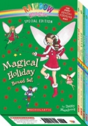 Just in time for the holidays, this magical boxed set includes four sparkly special editions! This boxed set includes four holiday stories: Holly the Christmas Fairy, Stella the Star Fairy, Gabriella the Snow Kingdom Fairy , Paige the Christmas Play Fairy. $24.96