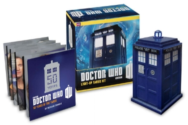 Light-up Tardis Kit from Running Press. $9.95