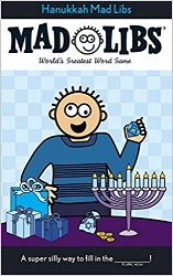 Hanukkah Mad Libs  is more fun than playing a game of dreidel!  $4.99