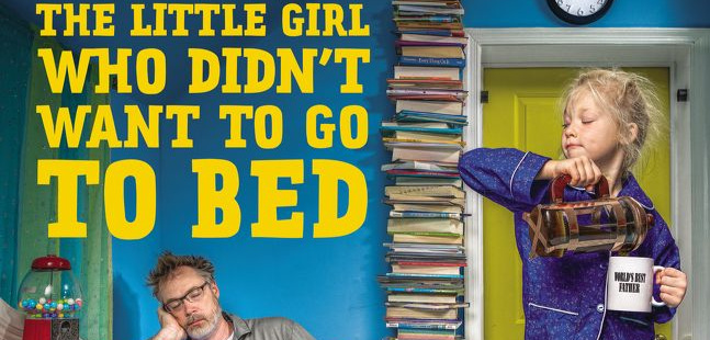 Dave Engledow, World's Best Dad and author of  The Little Girl Who Didn't Want to Go to Bed.