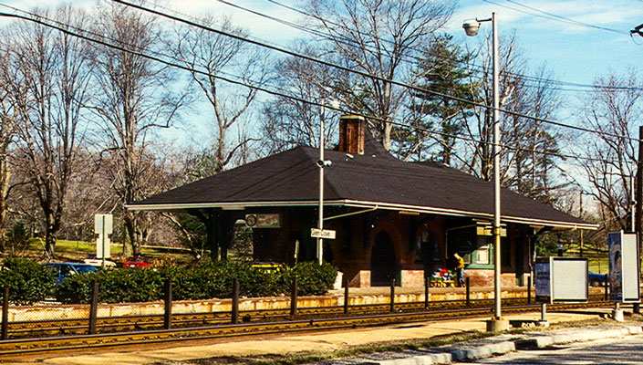 Glen Cove Station, Glen Cove, NY (Sabrina 1954)