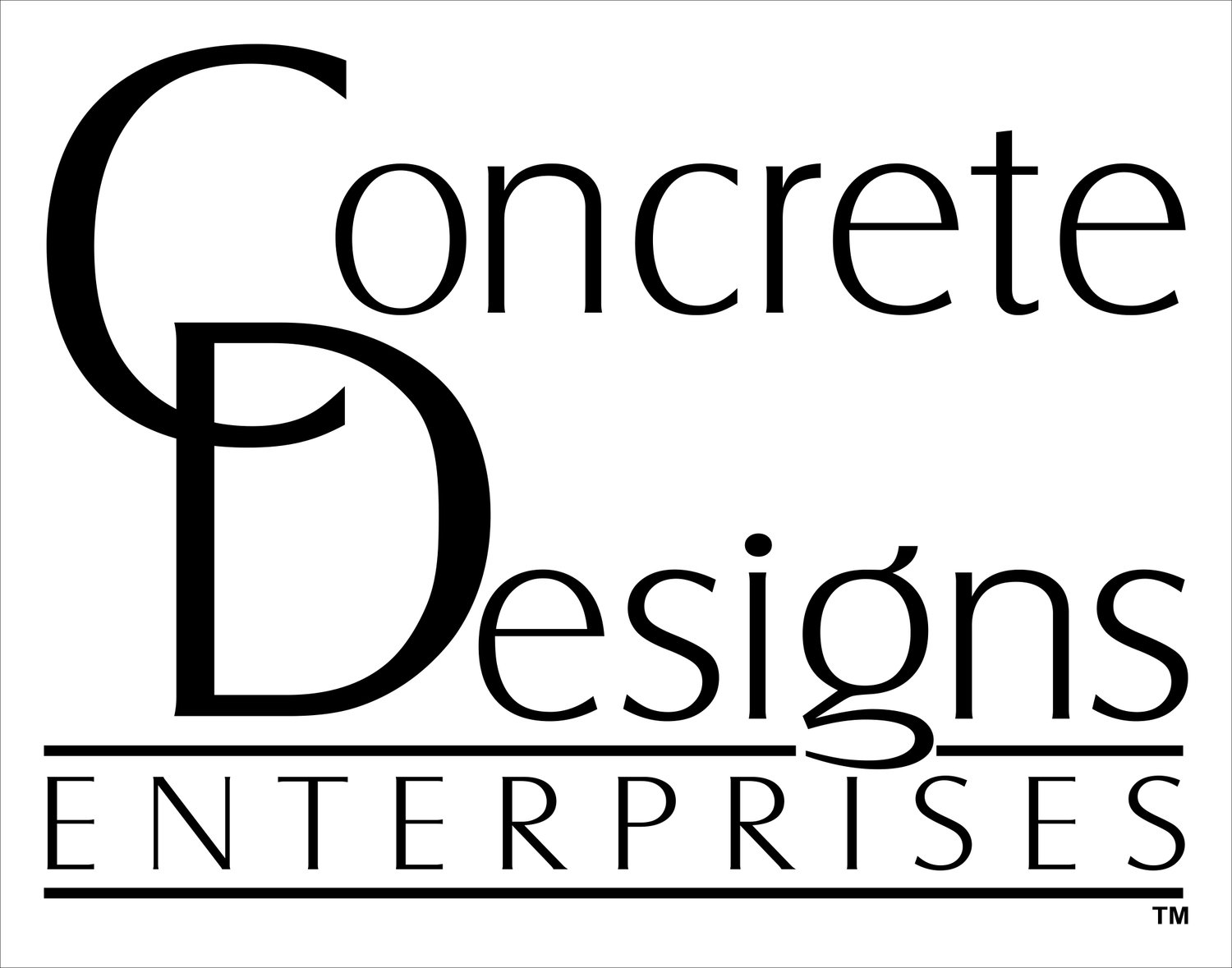 Concrete Designs, Ent. LLC