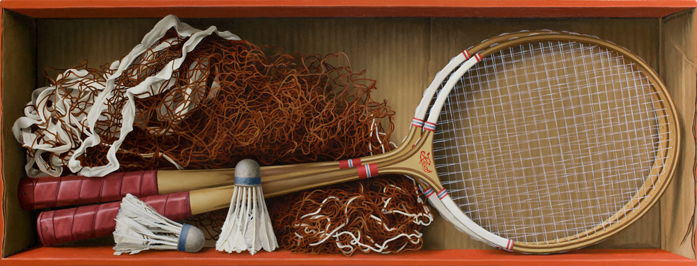 Racquets and Shuttlecocks