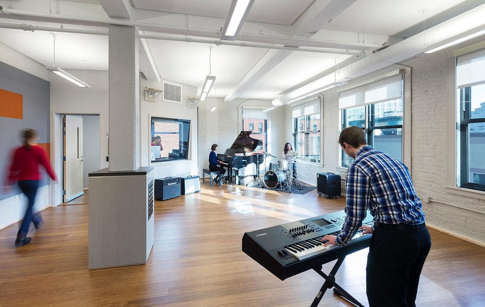 Berklee College of Music, 1108 Boylston Street Renovation