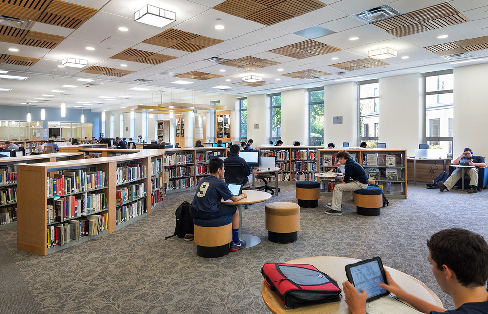 Malden Catholic Learning Commons