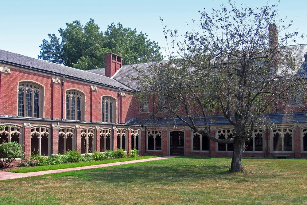 Historic Lower School, view from courtyard