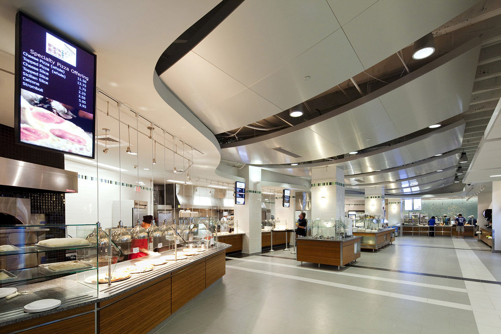 Expanded Servery