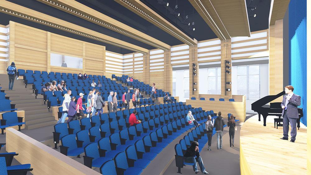 Three Rivers Community College, Theatre Building