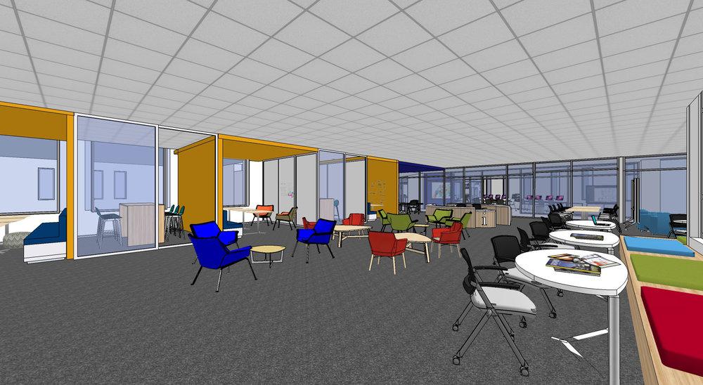 Gann Academy, Learning Commons