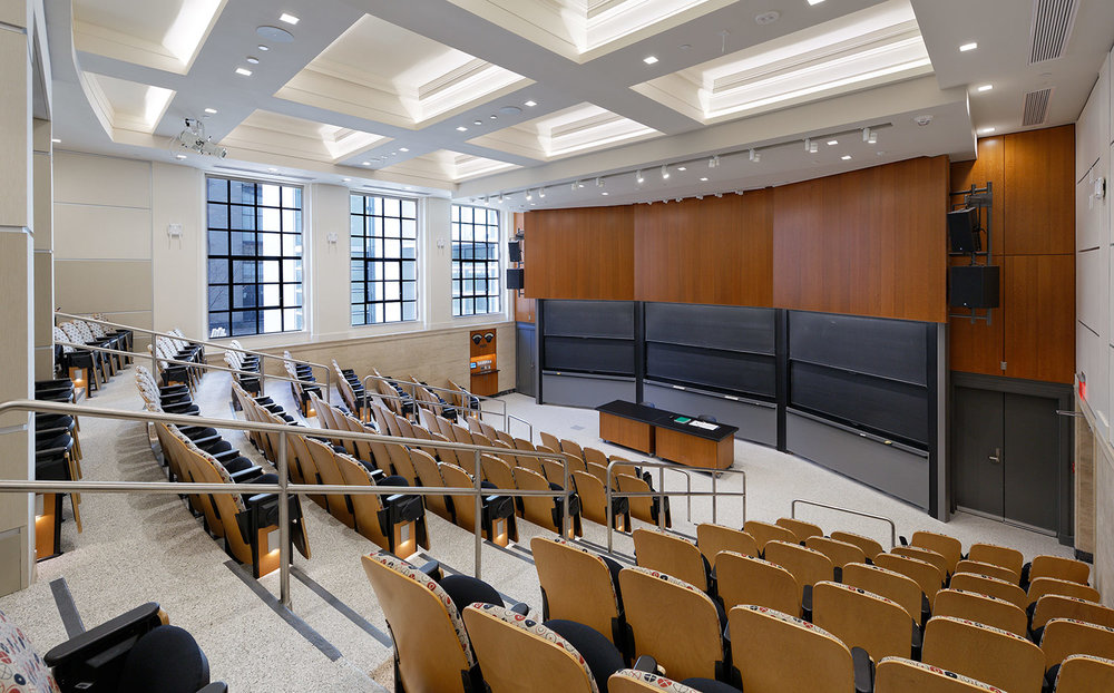 MIT, Classroom and Lecture Hall Renovations