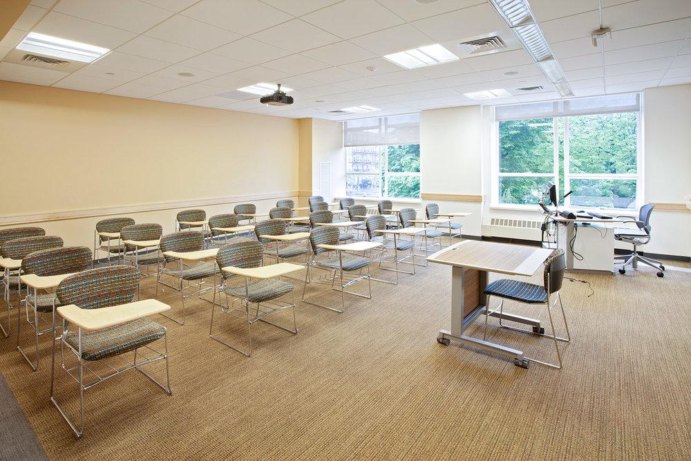 Richards Hall Classroom