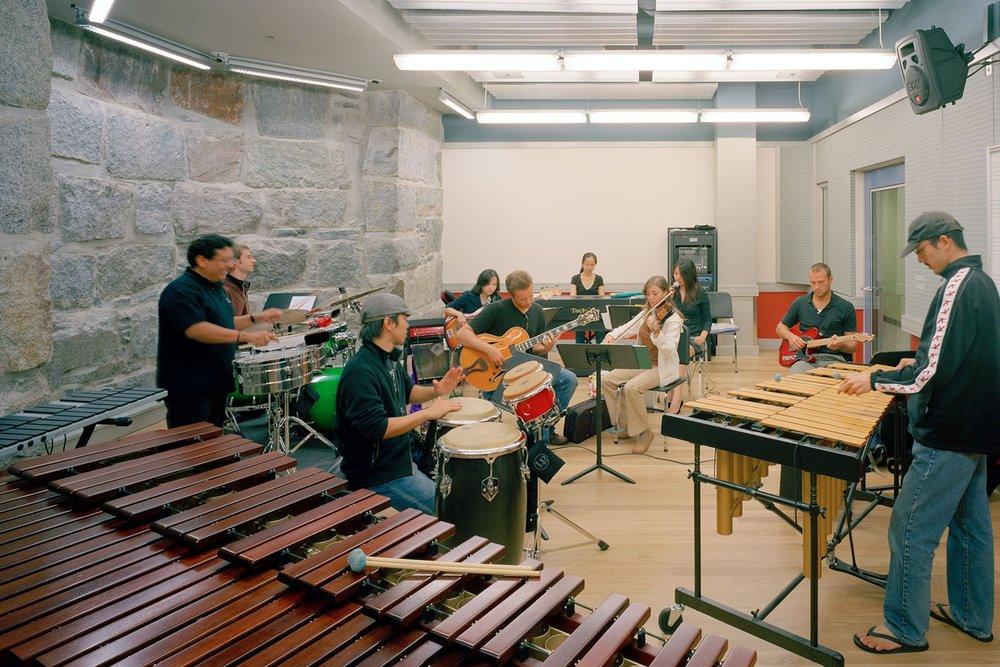 Percussion Department Studio