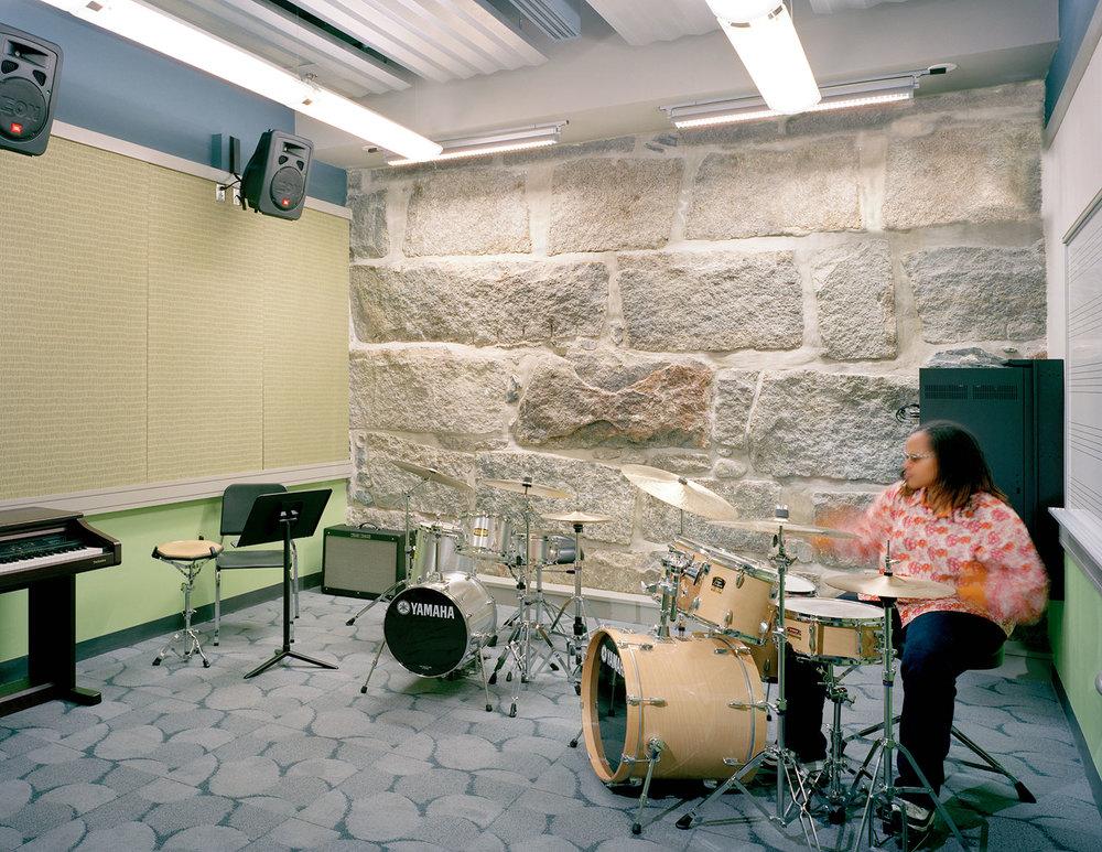 Percussion Department Practice Room