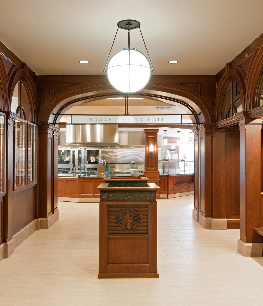 Howard Dining Hall Servery Entrance
