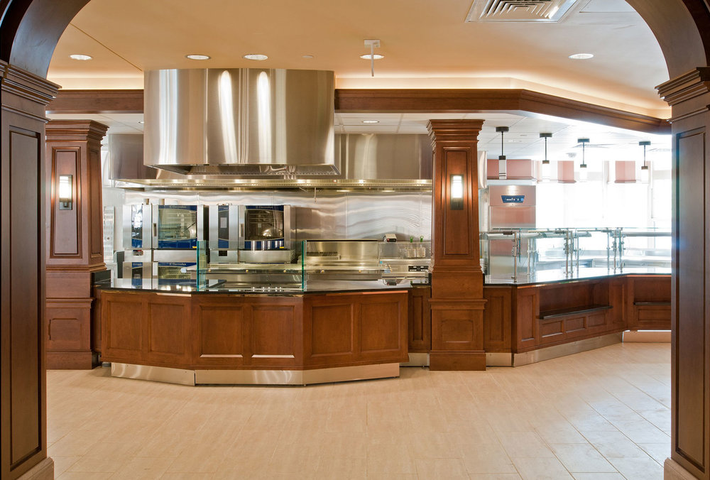 Howard Dining Hall Servery
