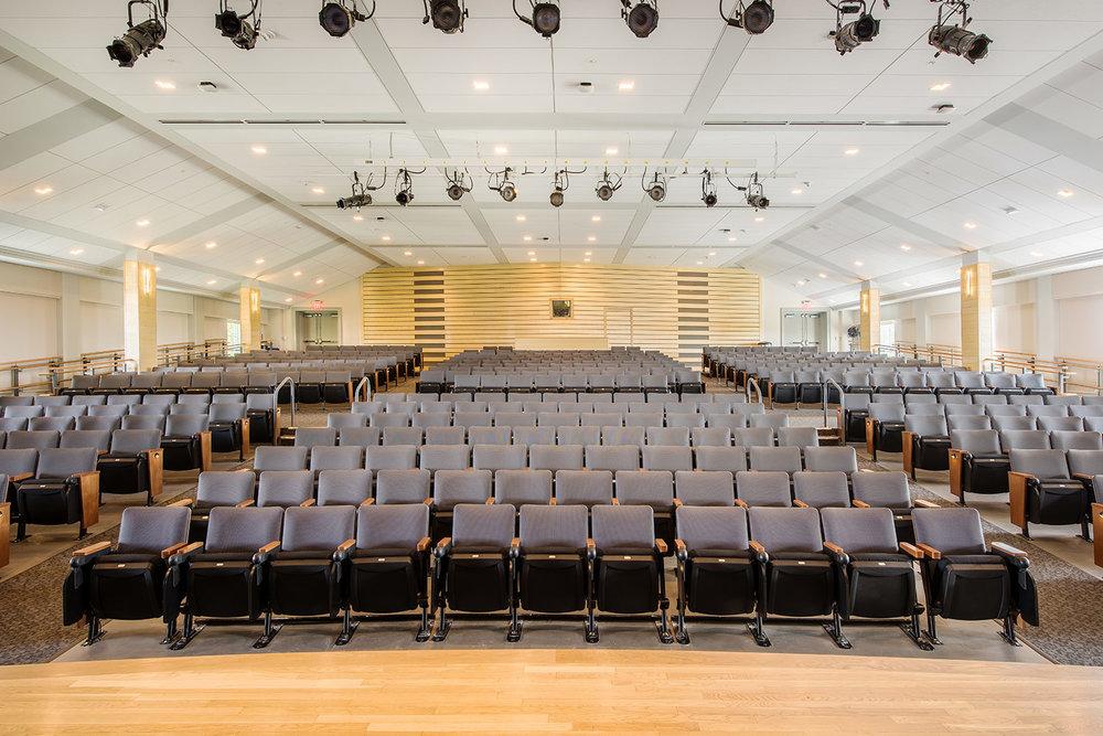 Koumantzelis Auditorium Renovation