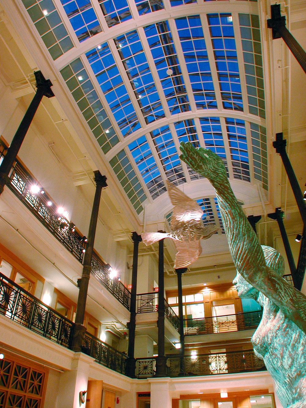 Gordon Hall of Medicine Skylight Restoration