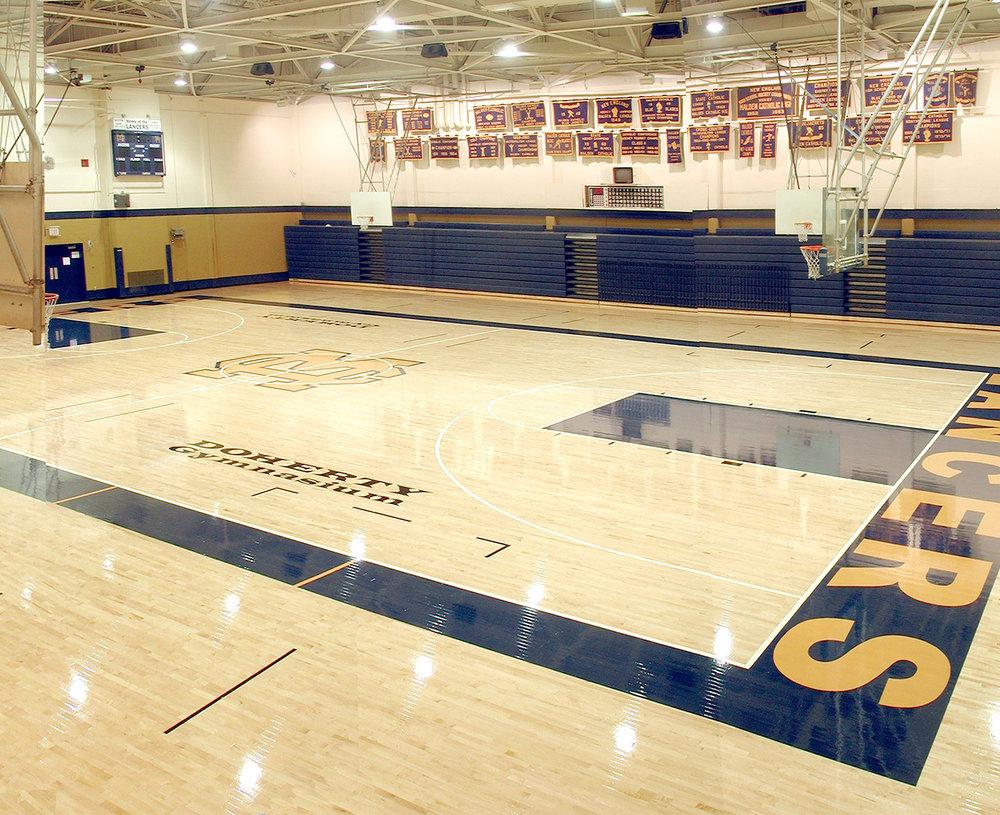 Gymnasium and Locker Room Improvements